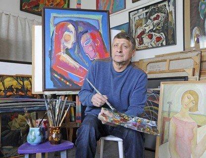 Встреча с художником Анатолием Сергиенко