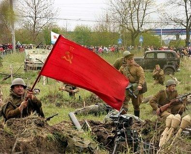День Победы в музее