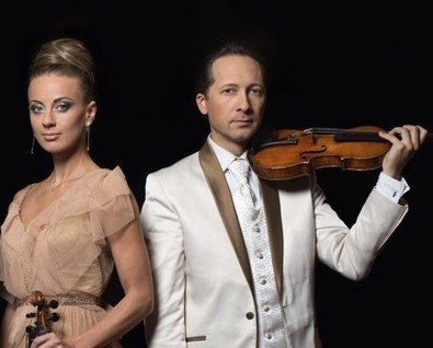 Концерт Виктории Чепинскене и Вильгельмаса Чепинскиса (Литва)