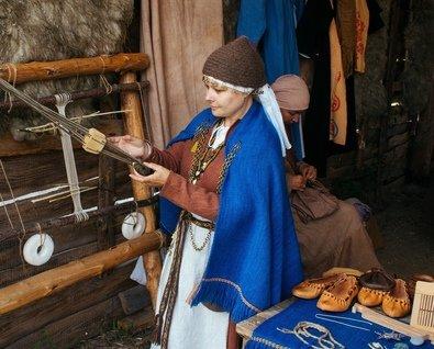Фестиваль ремёсел в деревне викингов