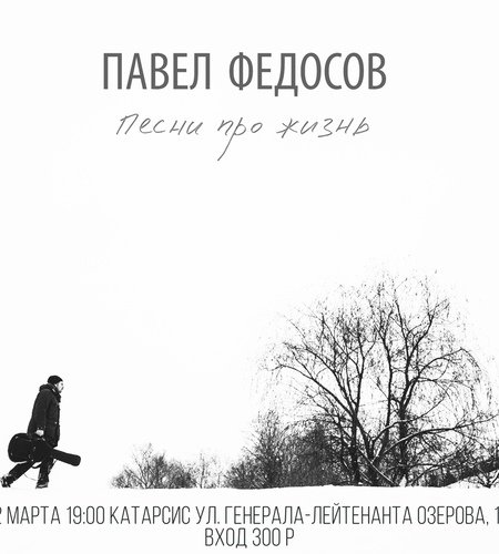 Концерт Павла Федосова