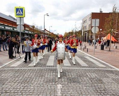 Открытие пешеходной улицы Баранова