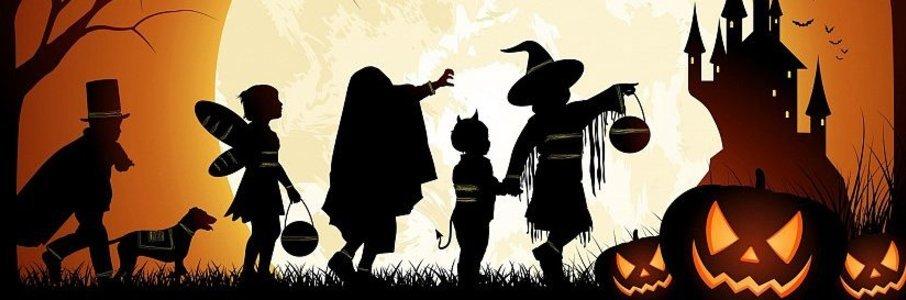 Детский Хэллоуин с ведьмочкой Маргушей