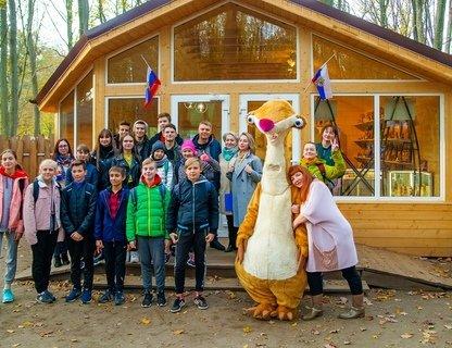 День народного единства в Парке янтарного периода