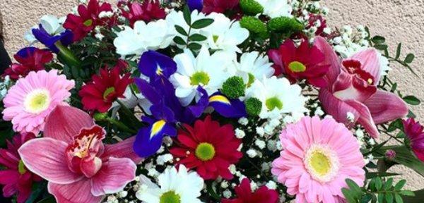 Стильные цветочки