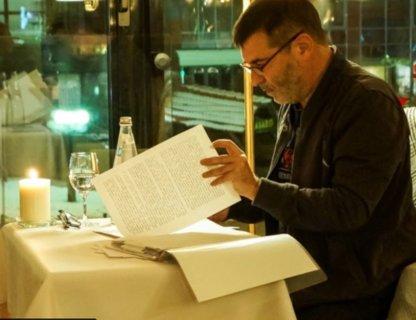 Виртуальный ужин с Евгением Гришковцом