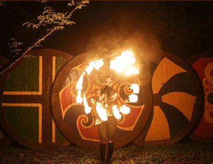 Ночь огня на Каупе