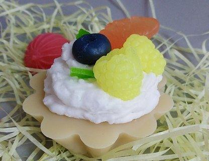 Мастер-класс по созданию мыльного пирожного