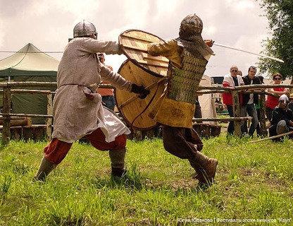 День воина в деревне викингов