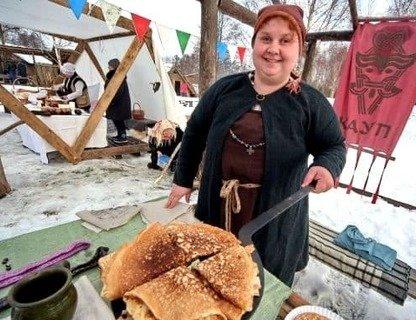 Масленица в деревне викингов