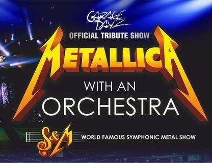 Metallica Show S&M Tribute в сопровождении Симфонического оркестра