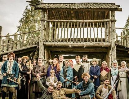 """День с викингами на """"Каупе"""""""