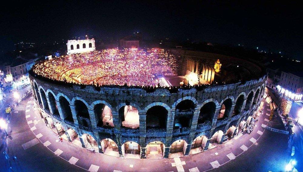 Концерт «Италия: Арена ди Верона – оперный феномен»