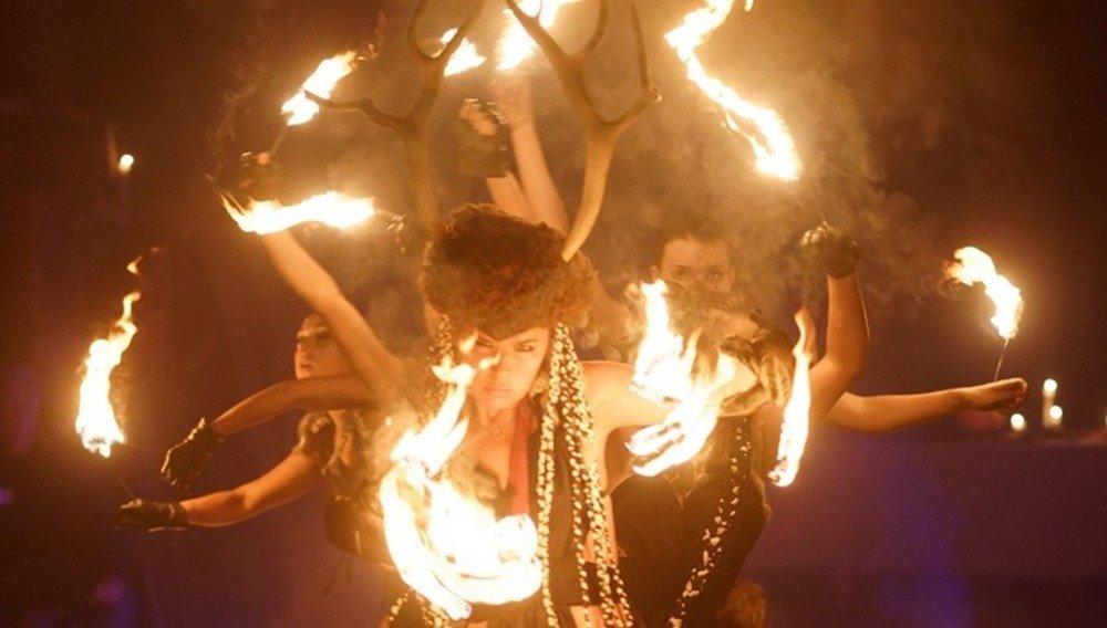 Средневековый праздник Самайн
