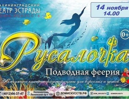 Подводная феерия «Русалочка»