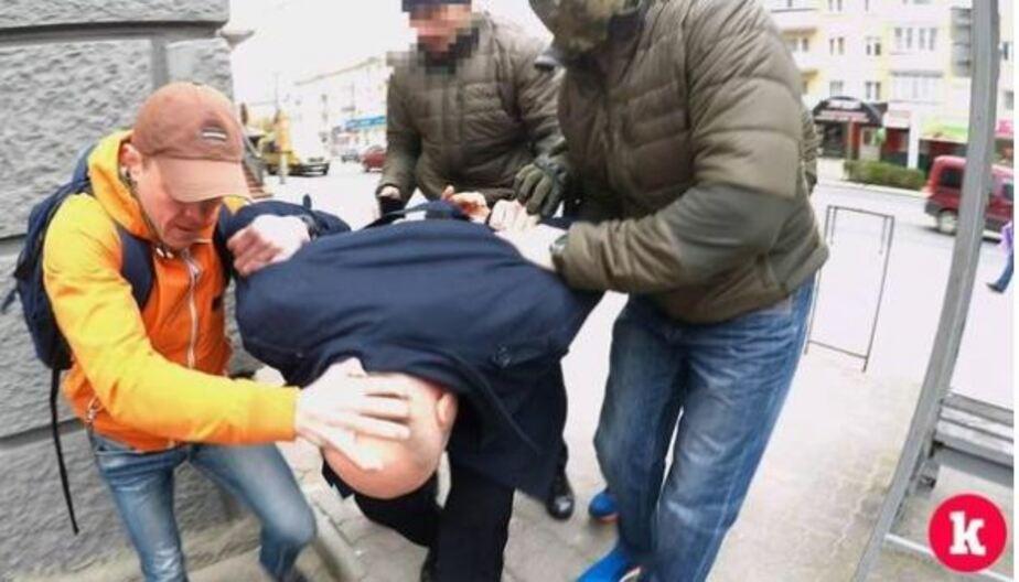 Кадр видеозаписи пресс-службы УФСБ по Калининградской области