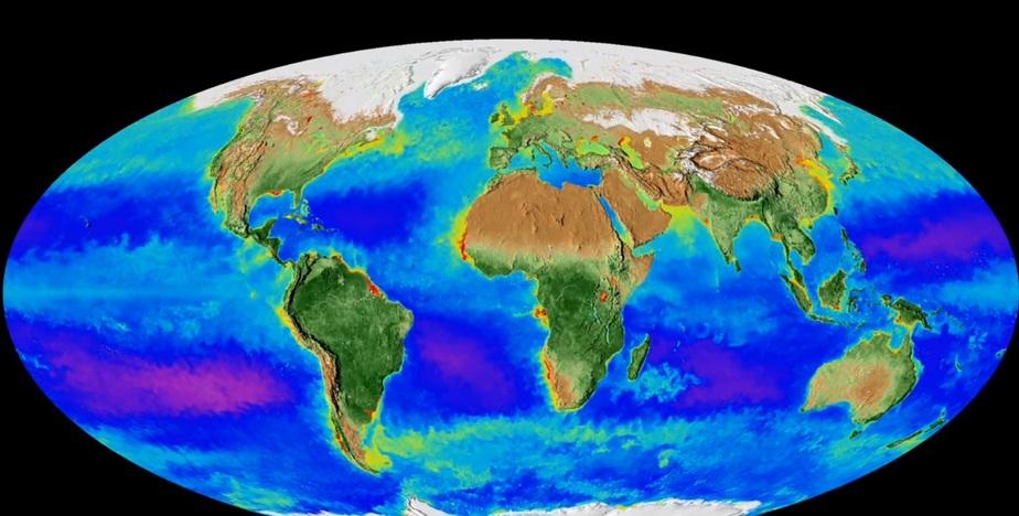 Кадр из видеозаписи NASA