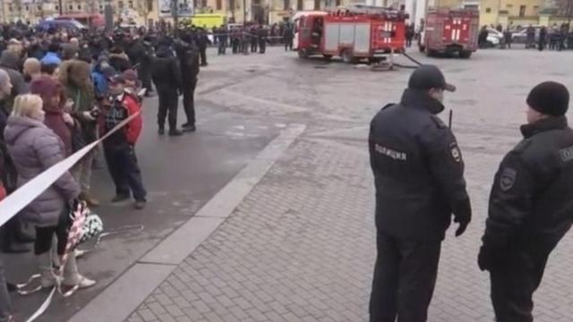 В Петербурге прошли обыски в доме террориста, устроившего взрыв в метро