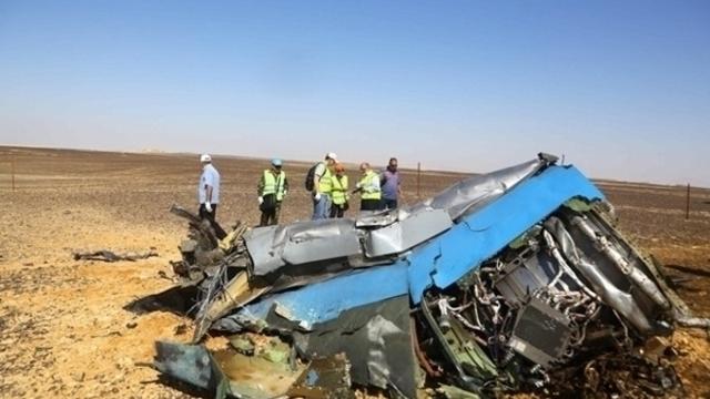 В Египте почтили память россиян, погибших при крушении самолёта на Синае