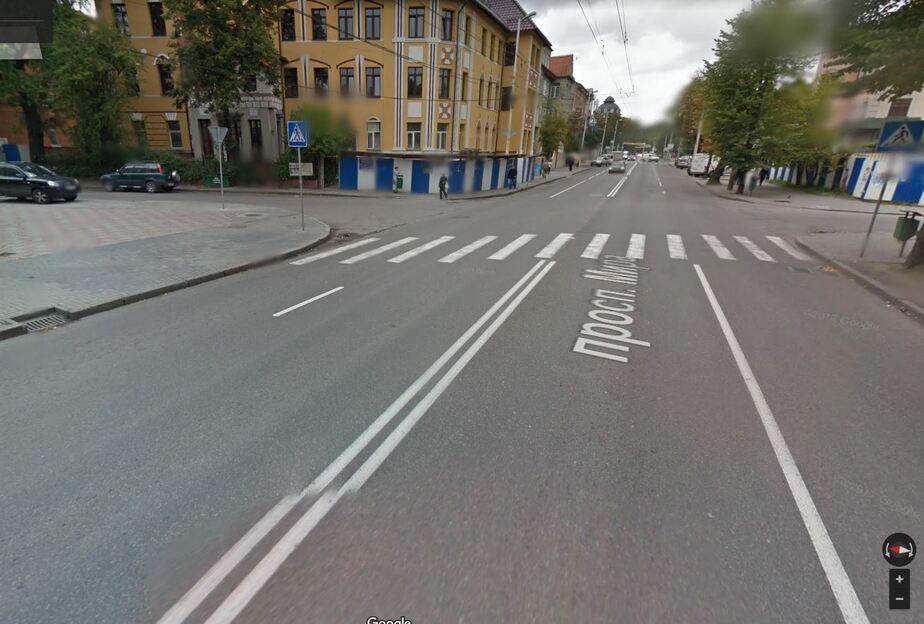 Место, где произошла авария / Скриншот Google Maps