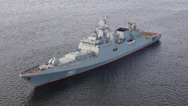 Построенный в Калининграде фрегат