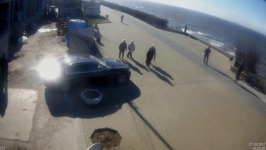 "Кадр с видео камер ""Безопасного города"""