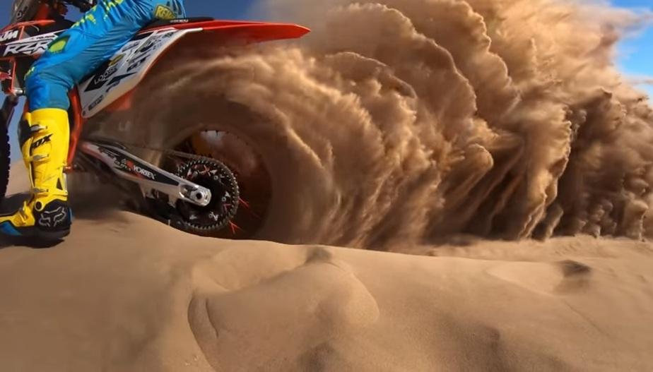 Кадр из видеозаписи GoPro