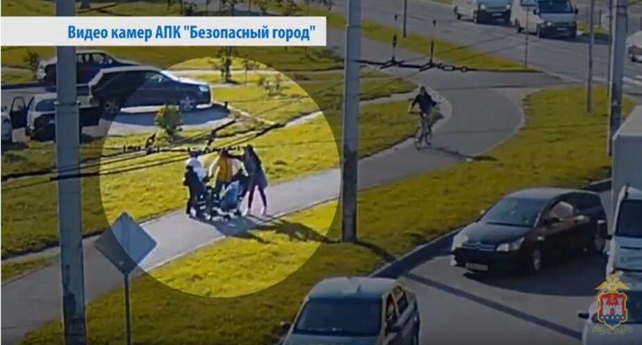 """Кадр видеозаписи АПК """"Безопасный город"""""""