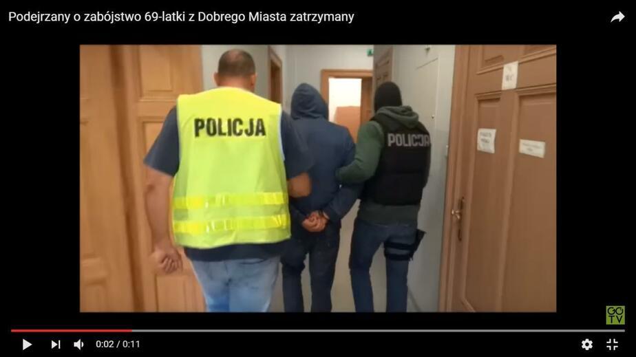 Кадр видеозаписи Gazeta Olsztyńska