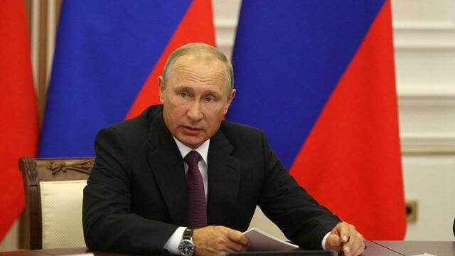 Владимир Путин прибыл в Калининградскую область с рабочим визитом (обновлено, фото)