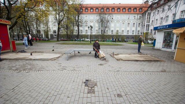 В Калининграде снесли ещё два ларька с фастфудом — на этот раз у здания КГТУ (фото)