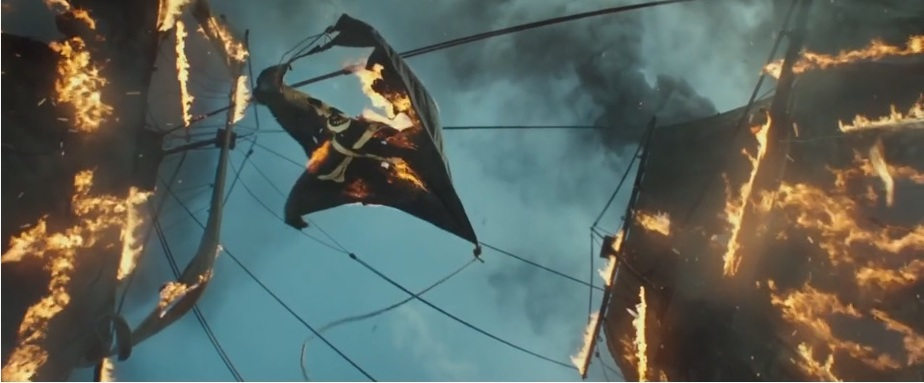 """Кадр фильма """"Пираты Карибского моря: Мертвецы не рассказывают сказки"""""""