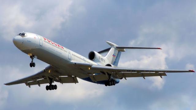 СМИ: самолёт Ту-154, разбившийся над Чёрным морем, сел на воду под контролем пилота