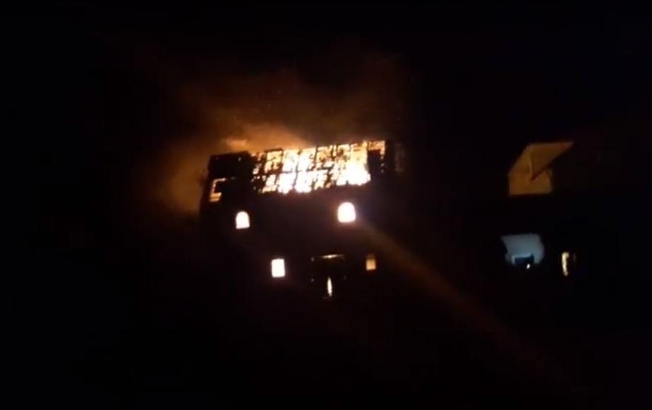 Кадр видеозаписи