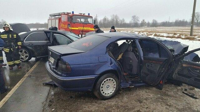 Полиция ищет свидетелей смертельной аварии на трассе Гусев — Нестеров (видео)