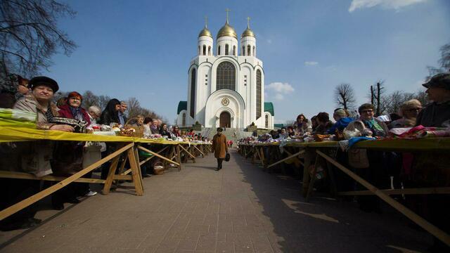 Эксперты назвали стоимость пасхального стола в Калининградской области