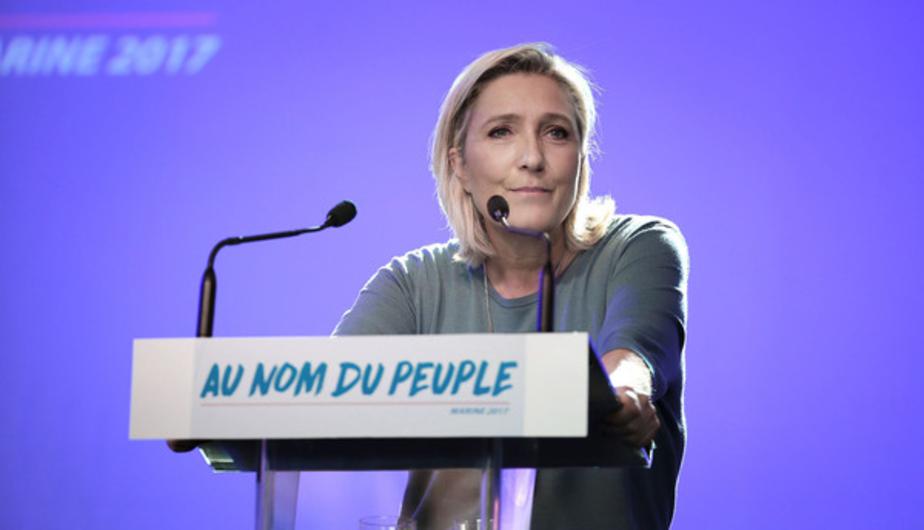 Фото с предвыборного сайта Марин Ле Пен