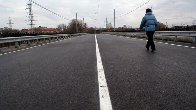 В районе нового моста на ул. Суворова скоростной режим ограничат до 40 км/ч
