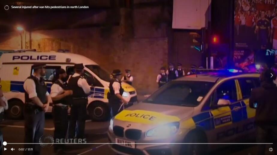 Кадр видеозаписи Reuters