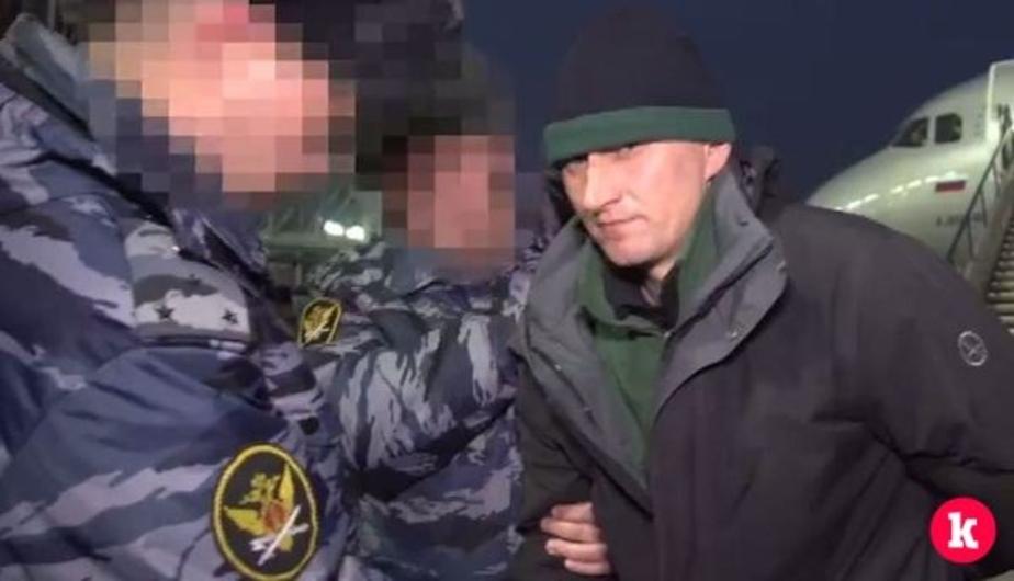 Скриншот видеозаписи пресс-службы УМВД по Калининградской области