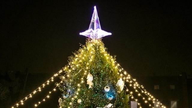 В польском Ланьцуте на месте снесённого памятника советским солдатам установят рождественскую ель