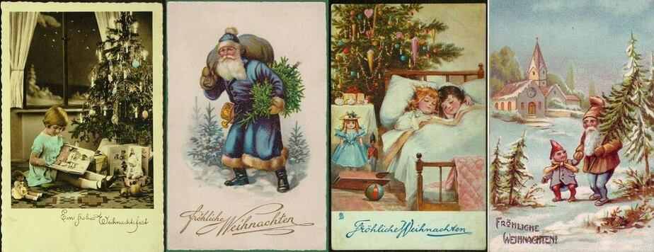 """Подарки в носочках и покупка счастья: как кёнигсбержцы отмечали Рождество. Спецпроект Клопс.Ru """"Осколки Кёнигсберга"""""""