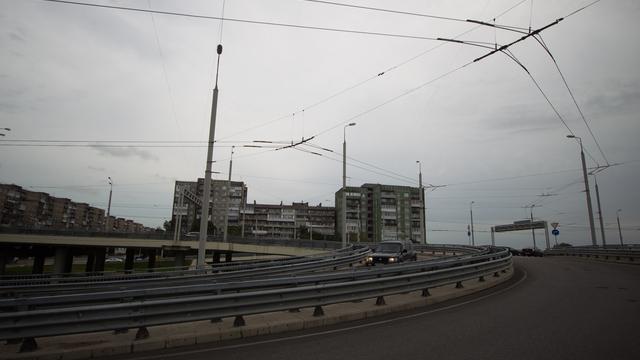 Власти Калининграда назвали стоимость ремонта освещения на Второй эстакаде