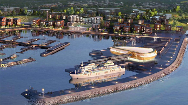 Главгосэкспертиза одобрила проект строительства сетей морского терминала в Пионерском