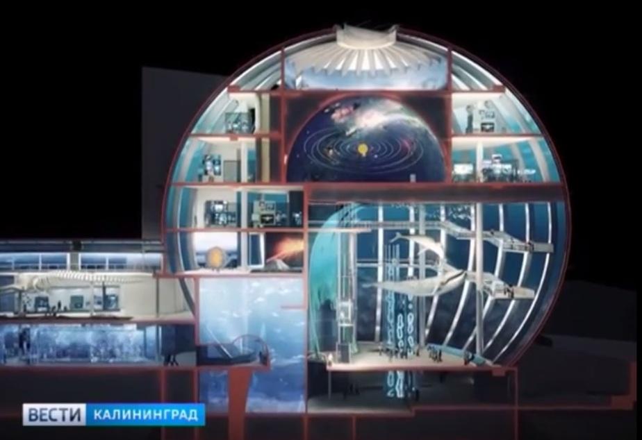 """Скриншот видеозаписи """"Вести-Калининград"""""""