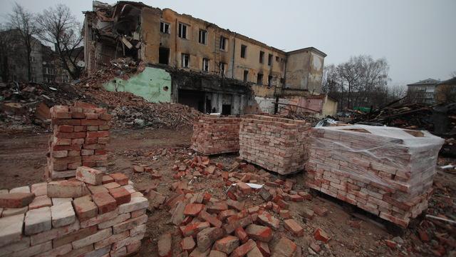 Власти Правдинского округа назвали причину сноса башен-