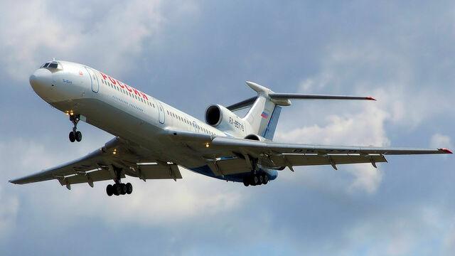 В России приостановили полёты Ту-154