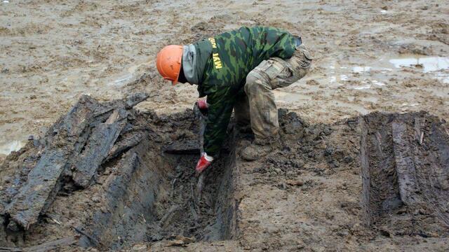 На стройплощадке в Калининграде обнаружили останки мирных жителей Кёнигсберга