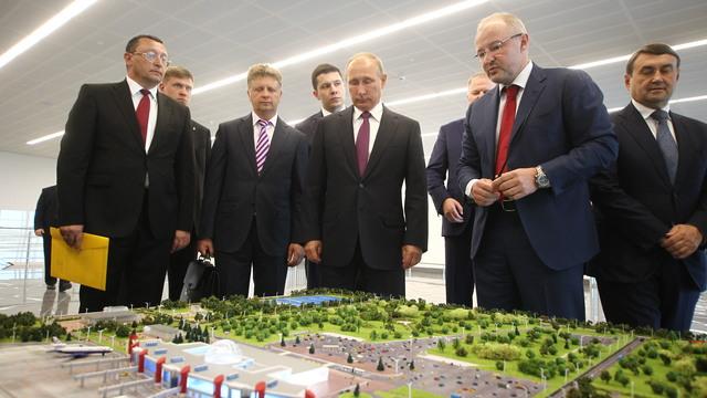 Путин покинул Калининградскую область после рабочей поездки