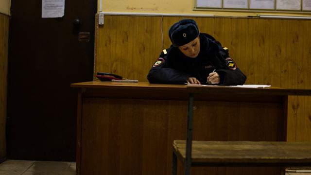 В Москве на акции протеста задержали Навального